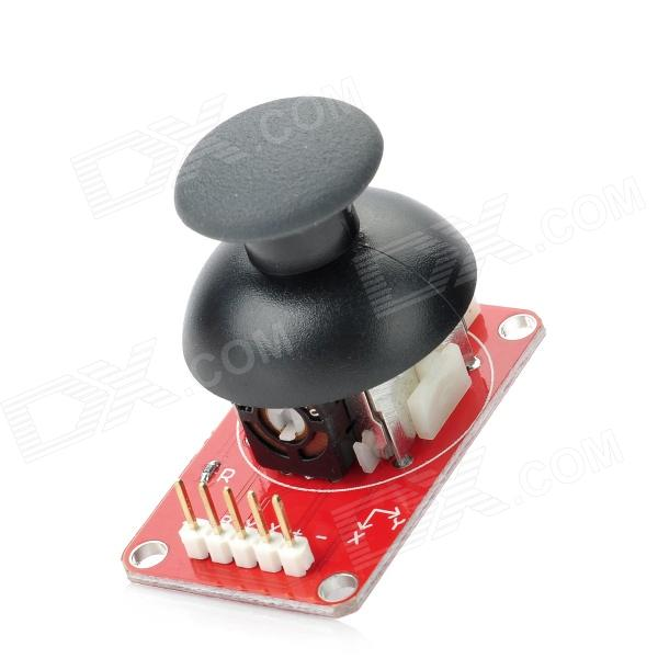 QJ-XM1121 Nueva Arduino Shield JoyStick Development Board - Rojo + Negro