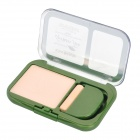 KISS BEAUTY SPF25 Green Tea Natural Pressed Powder w/ Puff - Nude