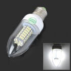H6306W-220V E27 5.5W 500lm 3500V 102-SMD 3528 Warm Light LED Lamp Bulb - White (AC 220V)