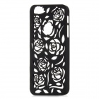 Stylish Newtons Hollow Rose Patterns Protective PC Back Cover Case for Iphone 5 - Black