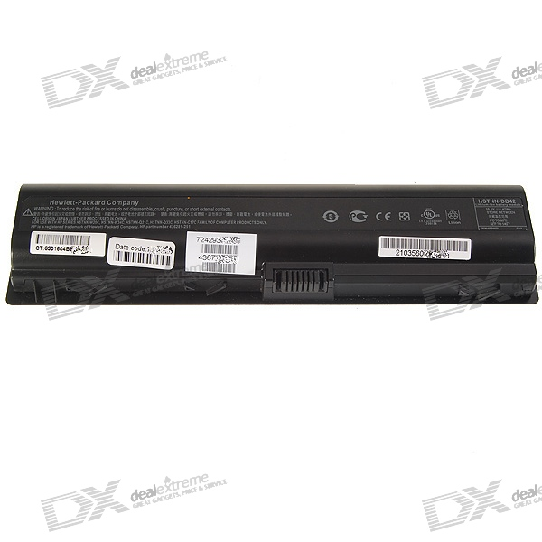HP DV2000 Compatible 4400mAh Replacement Lithium Battery for HP V3000/V6000/DV2000/DV6000 Laptops