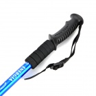 Retractable Aluminum Alloy Trekking Stick Walking Hiking Pole - Blue (50~79cm)