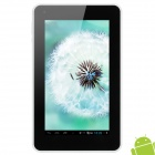 "Teclast P76E 7.0"" Capacitive Screen Android 4.1 Dual Core Tablet PC w/ TF / Wi-Fi / Camera - White"