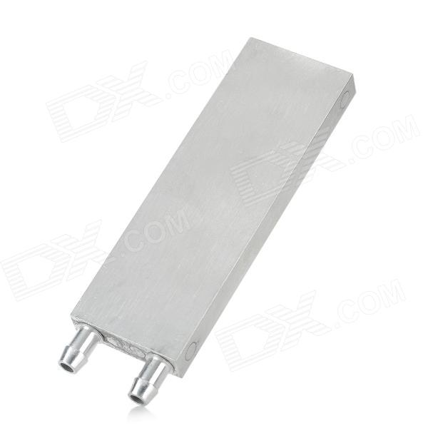M Shape Aluminum Alloy Water Block Thermoelectric Cooling Module - Silver