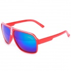 OREKA AB2991 Fashion Revo PC Lens Red Frame Sunglasses - Red