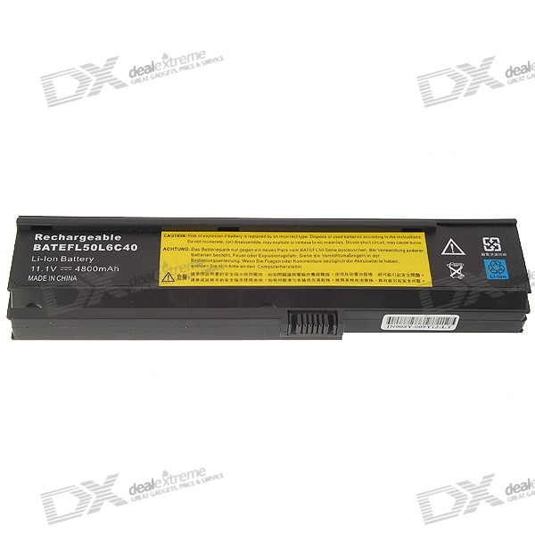 Acer ACR5500 Compatible 4800mAh Replacement Lithium Battery for Acer Aspire 5500/5600/3600 Laptops