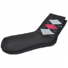 aotu a2 Outdoor Quick Dry / Anti-stink Thicken Socks - Black + Grey + Red