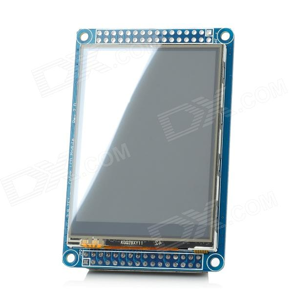 I102804 2.8 TFT Touching LCD Module - Blue stm32f103rbt6development board learning board assessment board spi interface 2 4 tft color screen routines
