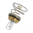 500lm Yellow HID Xenon Light Bulb for UltraFire WF-500 Flashlight - Golden + Silver
