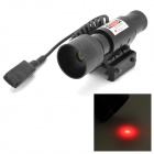 LR06B Aluminum Alloy Red Laser Scope Gun Aiming Sight Bohrung Sight - Schwarz (1 x LR44)