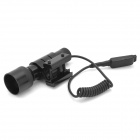 LR06B Aluminum Alloy Red Laser Scope Gun Aiming Sight Bore Sight - Black (1 x LR44)