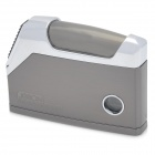 JOBON R4880A Press Pop-Up Style Windproof Dual Flame Ethane Lighter - Silver + Grey