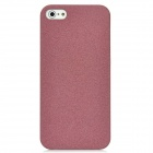 Quicksand Protective PU Leather Hard Back Case for Iphone 5 - Coffee