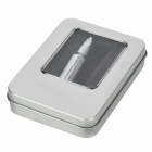 Metal Bullet Style High Speed USB 2.0 USB Flash Drive Disk - Silver (8GB)