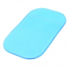 Slipping Resistant Silicone Pad for Cell Phone - Blue