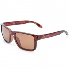 CARSHIRO GF336 Fashion Resin Polarized Lens UV400 Protection Sunglasses - Brown