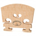 William 02 Maple Wooden Violin Bridge - Beige