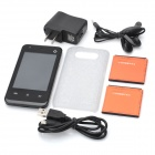 "PZ226+ Android 2.3 GSM Smartphone w/ 3.5"" Capacitive Screen, Dual-Band, Wi-Fi and Dual-SIM - Black"