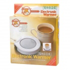 Electric Heat Warmer Insulation Disc - White + Grey