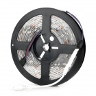 Waterproof 27W 1800lm 150-SMD 5050 LED RGB Light Flexible Strip Lamp w/ PGB Controller - Black