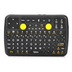 3-in-1 82-key Bluetooth v3.0 Wireless Game Keyboard for Iphone 5 / 4S / Ipad - Black