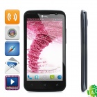 "THL W5 Android 4.0 WCDMA Smartphone w/ 4.7"" Capacitive Screen, Wi-Fi, GPS and Dual-SIM - Black"