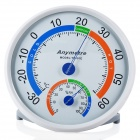 Anymetre TH101E Household Weather Thermometer Hygrometer - White (Battery-free)