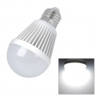 E27 9W 6500K 630lm 9-LED White Light Bulb (AC 100~240V)