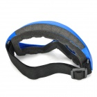 Fashion Eyes Protection Anti-Dust Skiing Glasses Ski Goggles - Blue
