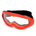 Outdoor Motorcycle Riding Cool Windproof Anti-Dust Goggles - Red