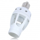 E27 230W 360 Degree PIR Sensor Lamp Holder - White (110V)