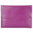 "Protective PU Leather Upper Flip-open Bag for iPad Mini / 7"" Tablets - Purple"