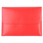 "Protective PU Leather Upper Flip-open Bag for Ipad MINI / 7"" Tablets - Red"
