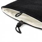 Protective MoFan Flannel Sleeve Bag for Ipad MINI - Black