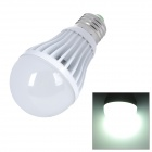 E27 9W 1100lm 7000K White Light COB 1-LED Bulb - White (220V)