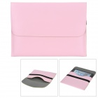 "Protective PU Leather Upper Flip-open Bag for Ipad MINI / 7"" Tablets - Pink"