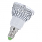 E14 4W 360LM 6500K Cool White Light 4-LED Cup Bulb (85~265V)