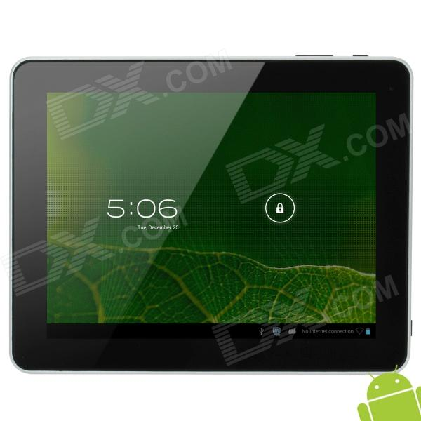 "DONGPAD ROCO3 9.7"" Capacitive Screen Android 4.1 Dual Core Tablet PC w/ TF / Wi-Fi / Camera - Silver"