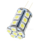 G4 4W 6500K 86lm 27-SMD 5050 LED White Light Household Lighting Bulb - White + Yellow