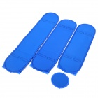 Dynamic Portable Charming Long Leg Pretty Massage Correction Belt Set - Blue (L-Size)