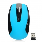 G-167 2.4GHz 1000DPI Wireless Optical Mouse w/ Nano Receiver - Blue + Black (1 x AAA)