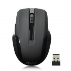 GUO YU G4 Mini 2.4GHz 1000DPI Wireless Optical Mouse w/ Nano Receiver - Black (1 x AAA)