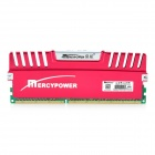 MERCYPOWER Professional 4G 1600MHz 240-Pin DDR3 RAM Overclocking Memory Module for Desktop PC - Red