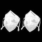 3M 9001A Disposable Activated Carbon Sterile Safety Surgical Face Masks Respirators - White (2 PCS)