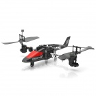 DaQin T008 Rechargeable Multi-Functional 3.5-CH IR Remote Control R/C Stunt Helicopter w/ Gyro