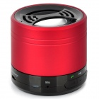 NH-BT001 Handsfree Bluetooth V3.0 Speaker w/ FM Radio / Receiving Calls - Red + Black