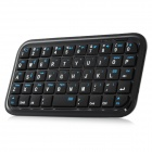 LS-BK989 Mini 49-Key Bluetooth V3.0 teclado para Iphone 5 - Negro