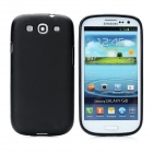 Hotsion s93-01-a Protective Silicone Back Cover Case for Samsung 9300 - Black