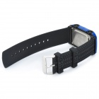 SKMEI SK0961 Sporty Car Style Children Silicone Digital Wrist Watch - Dark Blue + Black (1 x CR2025)
