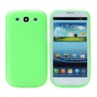 Hotsion s93-01-l Protective Silicone Back Cover Case for Samsung 9300 - Translucent Green